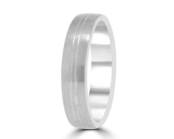 Your Guide To Choosing A Gent S Wedding Band Bespoke Rings