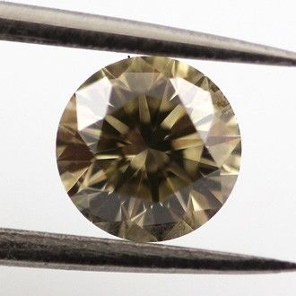 Greenish Yellow Grey Diamond Bespoke Diamonds
